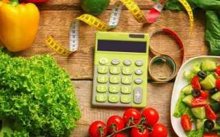 Как высчитывать калории при похудении