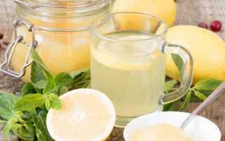 Как делать медовую воду для похудения
