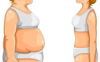 Как поправиться после резкого похудения