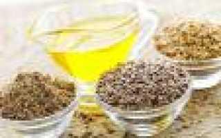 Полезность льняного масла для похудения