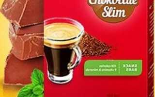 Как пить коктейль для похудения шоколад слим