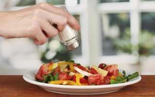 Нужно ли отказаться от соли при похудении