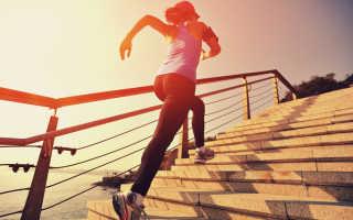 Поднимание по лестнице для похудения