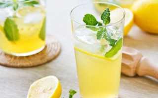 Вода с лимоном для быстрого похудения