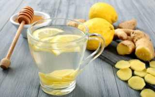Имбирная вода с лимоном для похудения как пить