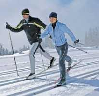 Помогут лыжи сбросить вес