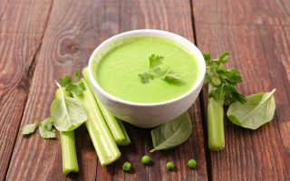 Очищающий суп для похудения с сельдереем