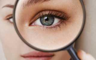 Впавшие глаза после похудения