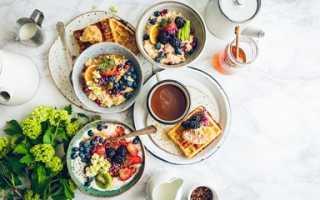 Оптимальный завтрак при похудении