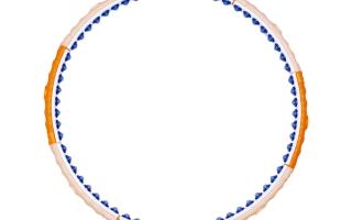 Обруч для похудения passion health hoop