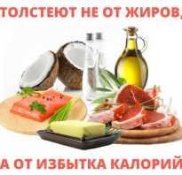 Вред жиров при похудении