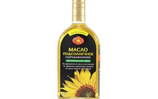 Нерафинированное подсолнечное масло для похудения