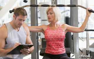 Инструктор тренажерного зала для похудения для девушек