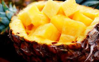 Польза свежего ананаса для похудения