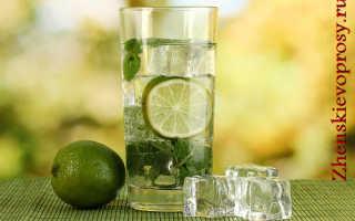 Вода сасси при похудении