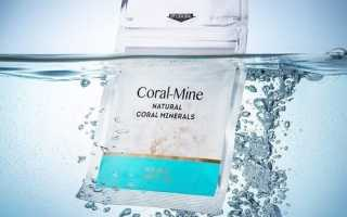 Вода для похудения корал